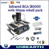 Hot Selling IR6000 Infrared BGA Rework Stations ,With 90mm Reballing Packs