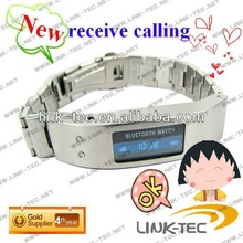 2011 new bluetooth bracelet can be calling