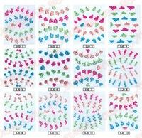 hot selling Nail Art for Stickers 3d diamond nail stickers, 3D design sticker nail art