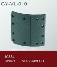 iveco brake lining 19384