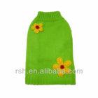 grass green cute daisy pet clothes RSH716