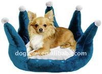 Princess pet bed/crown dog bed