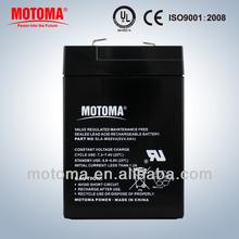 6v 4Ah sealed lead battery rechargeable battery lead acid battery