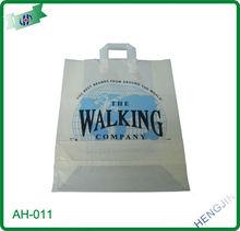 HDPE LDPE high quality soft loop handle bag