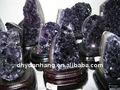 Linda cristal de ametista cluster, Cristal cachos de uva ametista geode, Ametista amostras minerais de cristal