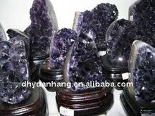 beautiful amethyst crystal cluster,crystal grape clusters amethyst geode,amethyst crystal mineral specimens
