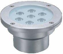 High Quality 7*1W/3W RGB Round underwater pool light LED Ingound Light