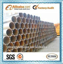 welded round steel pipe/steel price per ton