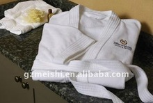 Star Hotel velvet Bathrobe with logo