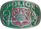 Guns Police and 2nd Amendment Belt Buckle