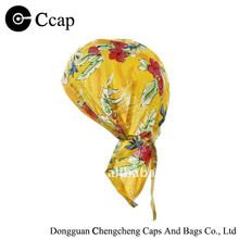 2015 customized Tropical Yellow Headwrap