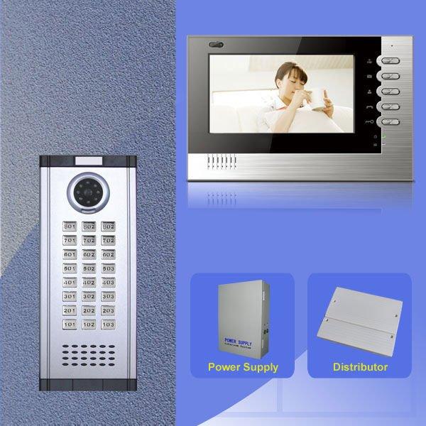 video door phones system with new model of video indoor monitor