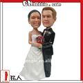 Único de encargo de la torta de la boda topper a base de fotos