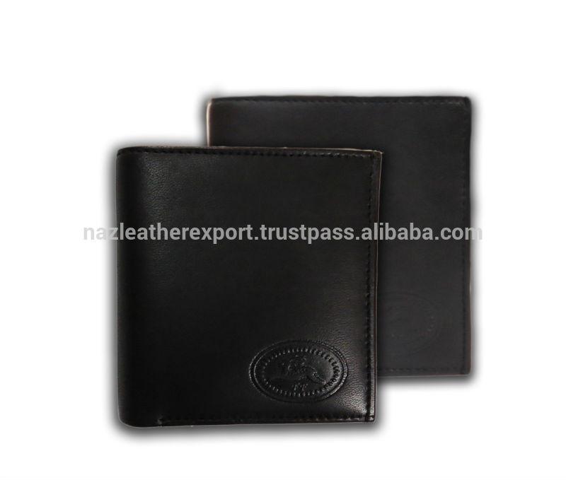 Black Leather Wallet For Men Black Leather Wallet For