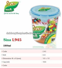Plastic Food Container No. L945, storage, Housewares, household use, plastic mug_ Skype: cao.yen99