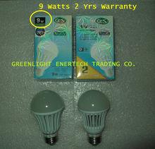 GES LED Bulb 9 Watts