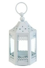 white candle lantern small size and best selling