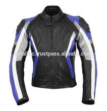 2015 Men's Latest Design Brand Motorbike Leather jackets Racing Leather Jacket