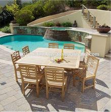 Solid wood teak wood rectangular table,teak outdoor dining table,outdoor garden teak furniture