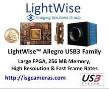 ISG LightWise Allegro USB3 Vision 4Mp CMOSIS CMV4000 Camera