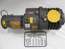 [used] Edwards Water Cooled Motor