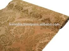 2015 New Latest brocade damask fabric