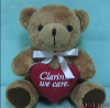 Lavender Brown Blue Color Uniform Red Heart Graduation Teddy Bear