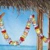 Christmas Promotional Item Hawaii Plastic Flower Lei