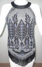 2012 fashion ladies chiffon tops(9662)