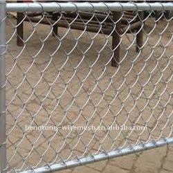 Dog Ear Chain Link Fence