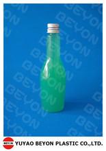 4oz PET plastic wine shape bottle
