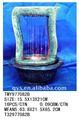 Luz led de interior mesa fuentes de agua