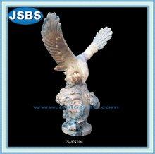 Carved Marble Eagle, Glede Statue JS-AN104Y