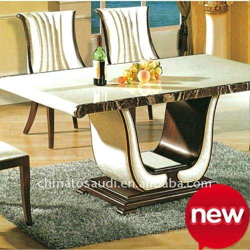 Mesa de comedor de m rmol de m rmol base de la mesa de - Bases de marmol para mesas de comedor ...
