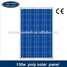 hot price per watt photovoltaic poly solar panel 130W
