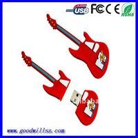 4G Red Cartoon USB/Guitar Usb Flash Drive