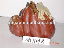 pottery pumpkin Halloween gift