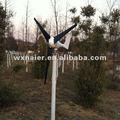200w sistema de turbina eólica/ utilitário projectos/ híbrido streetlamps