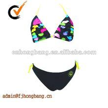 2012 hot sexy girl black fashion bikini