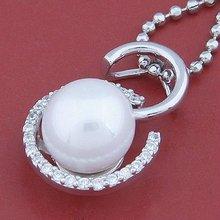 (07110) 2012 new 925 Silver pearl jewellery