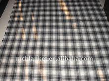 grid tartan blanket
