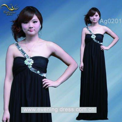 Sexy mature women's evening dress fashion 2012 Ag0201