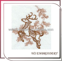 2012 sew on embroidery christmas patch