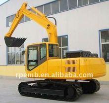 Rpl135 0.6m3 terne idraulico escavatore cingolato in vendita