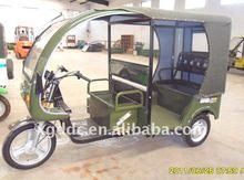 Electric 3 wheel motorcycle auto rickshaw