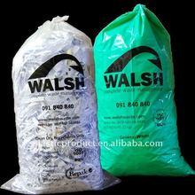 Oxo-degradable plastic rubbish bags