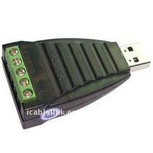USB to RS485 USB to RS422 converter with photoelectric isolation