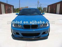 carbon fiber/pu/pp/fiber glass/auto parts/body kit/haman front lip/diffuser for e46 M3