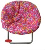 folding travel lightweight metal garden moon chair