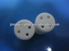 High quality insulator ceramic UV lamp end cap for sale
